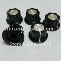 1000pc/lot 20x12mm 6mm 18 teeth push on knob for Linear Potentiometer