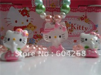 Sweet Hello Kitty jewelry set, children jewelry set( necklace, bracelet, ring) for a opp bag 10sets/lot Free shipping