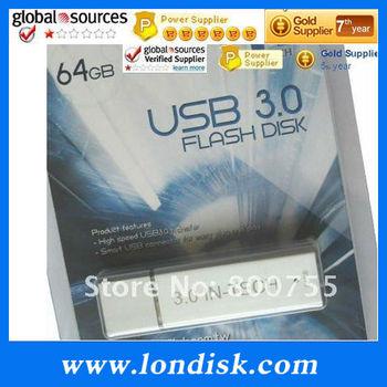 Full capacity USB 3.0 64GB USB3.0 Flash Driver