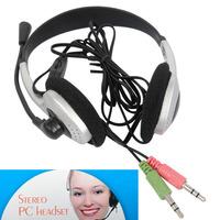 HEADPHONE HEADSET EARPHONE MICROPHONE MIC FOR PC LAPTOP