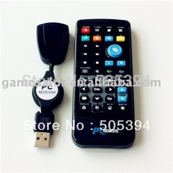 Free shipping USB Media Center Remote Controller PC DVD TV  #9728