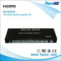 8-Port HDMI Splitter (Support 3D)