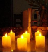 Wholesale free shipping:  heart shape LED Tea Light Candles lamp use AAA battery, 50pcs/lot