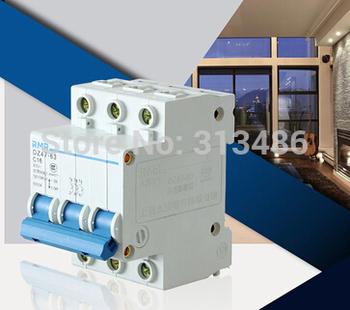 miniature circuit breaker DZ47-3P 32A / DZ47-63 C32