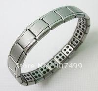 Nano 80 Germanium Titanium Bracelet Scalar Energy Bracelet 50pcs/lot