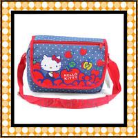 Hello kitty Cartoon Kids messenger bag shoulder bag Free Shipping