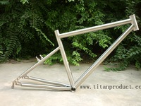 Specialized Titanium Mountain Bike Frame (Double Down Tube and with V Brake) 17''