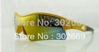 UV protection Yellow Sunglasses Fashion Sports Eyewear Free Shipping 3pcs/lot