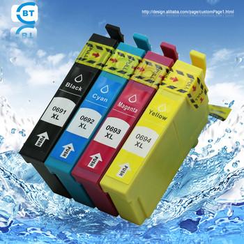 Compatível NX100 NX115 NX200 NX300 NX400 NX415 NX215 CX6000 CX5000 DX7400 CX7450 t0691 t0692 t0693 t0694 cartucho de tinta