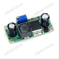 Safe Shipping, 4.5-40V Input Voltage DC-DC Step Down Adjustable Power Supply Module LM2596