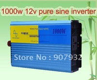 PROMOTION!1000w/2000w pure sine wave PSW power inverter (1000 watt, 12v/110v, only ship to USA/Japan, free shipping)