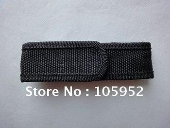 Hot sale black Nylon torch Holster /LED Flashlight Holster  50pcs/lot
