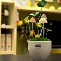 Free shipping Valentine's gift Fungus Lamp,LED table lamp, mushroom lamp,Energy saving Light