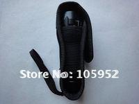 EMS free shipping black Nylon torch Holster /LED Flashlight Holster  50pcs/lot