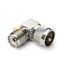 UHF adapter UHF Plug to UHF Jack Right Angle