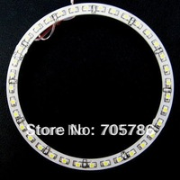 1pair 120mm 2.3W Car Angel Eyes light Headlight 36 SMD 3528 1210 LED Ring White