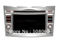 6.2 inch touch screen car dvd player for Subaru Outback/Legacy with DVD/BT/TV/FM/IPOD/RDS/GPS-8707