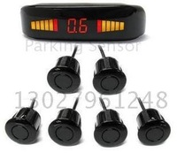 Guaranteed 100% New LED Display Car Parking Sensor System with 6 Sensors + 2011 Best Selling