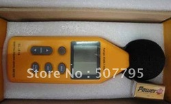 Digital sound level meter With USB software noise meter sound level calibrator with retail box Free Shipping(China (Mainland))