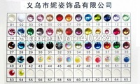 #01-#16 ss12 3mm 50000pcs Resin rhinestones flatback Free shipping
