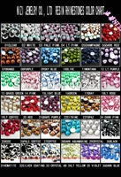 #17-#32 ss16 4mm 50000pcs Resin rhinestone flatback Free shipping