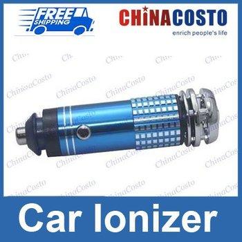 Free Shipping + Mini Auto Car Fresh Air Purifier + 100% brand new + Car oxygen bar + Retail package