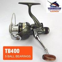 $10 off per $100 wholesale fishing reel 5 Ball bearing 2011 NEW spinning reels 5.2:1 fishing tackle tools TB400