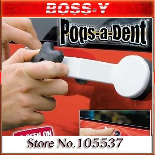 AS Seen On TV Pops A Dent Auto Body Dent Repair,car Removal Tools , color box pack(China (Mainland))