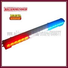 LED exterior light for car, Car LED stick lights, 18pcs Gen3 1W LED, High brightness, 5 flash pattern, PC lens (SA-618-3)(China (Mainland))