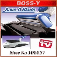 free shipping MOQ 1 PCS AS SEEN ON TV Electric automatic Razor Sharpener Save You a Blade ,Retail packaging