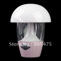 Shipping LED Colorful color changing Mushroom Lamp Night Light with Music 1687