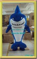 Newest Version Light Shark Costume/ Shark mascot  Cartoon Mascot Character Costume Free Shipping