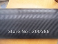 Air Free Bubbles With Air Drain Backside 3D carbon fiber vinyl sticker film foils Free Shipping cfvw30m
