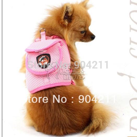 2015 on sale Fashionable multifunctional pet chest back type dog harness leash pet knapsack harness pet products(China (Mainland))