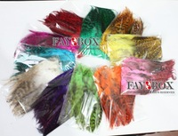 Rooster feather, Natural Feather hair extension, Hot Vivid Colors,200pcs/lot,Free Shipping