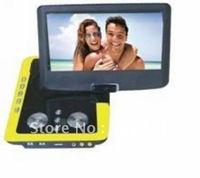 "Free Shipping 9"" Portable DVD Player UPT--968"