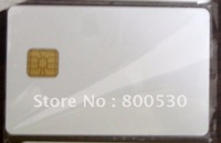 plastic blank IC SLE4442 chip card