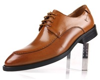 new style men cow leather dress shoes size:38-44