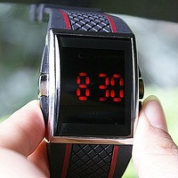 LED Light Men&amp;#39;s Digital Fashion Sport Wrist Watch OHSEN A028