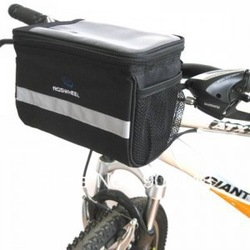 2013 New Bicycle Handlebar Bag Bike Cycling Front Basket Pack Free Shipping(China (Mainland))