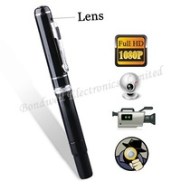 1080P HD High Resolution Mini DVR Pen(8GB), 1920*1080 30FPS Hidden Camera Ink Pen, Free Shipping By UPS DHL EMS