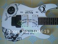 new SP Kirk Hammett Ouija WHITE ELECTRIC GUITAR free shipping EMG pickup GUITARS neck through body
