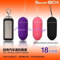 Free Shipping! 18 Speeds Remote Egg, Wireless Vibrating Egg, Car Remote Control Design, Sex Toys, Remote Bullet Vibrator