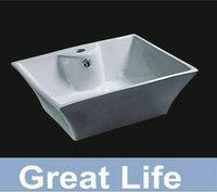 Free shipping   art basin , ceremic wash TD3001 basin