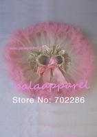 Ivory pink baby skirt short pettiskirts infant girls party wear