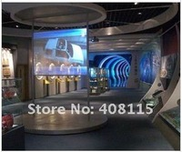 9sqm(1.524*6m) Transparent Rear projection screen/film/foil for shop window dispaly