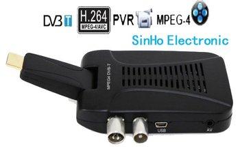 DVB-8609/Mini Scart Terrestrial Receiver Tv Tuner Dvb-t Freeview Receiver Box
