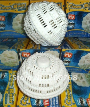 Free shipping by EMS !!Wholesale 50pcs/lot the clean ballz for the remplace lessive&adoucssant as seen on tv