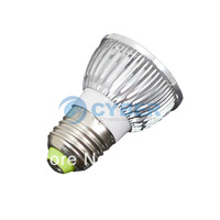 4W E27 LED Bulb Cold White,high brightness Energy saving Spot Lamp Light 85~265V Free Shipping 2031