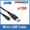 Micro USB cable for Samsung Galaxy S i9000 Galaxy S 2 II S2 i9100 data charger line cord,100pcs/lot
